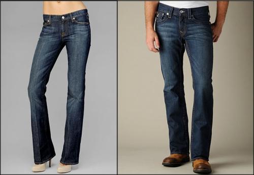 Модели джинсов буткат
