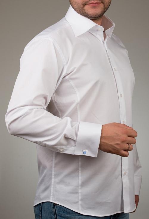 Белая рубашка и запонки