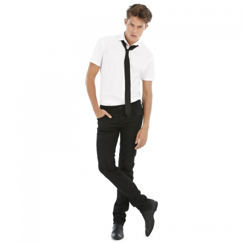 Галстук к рубашке с коротким рукавом